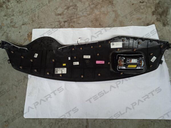 1060695-11-D - Панель торпеды (черная алькантара) c подушкой безопасности пассажира